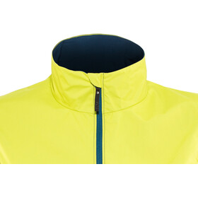 GORE WEAR R7 Partial Gore-Tex Infinium Kamizelka do biegania Kobiety, deep water blue/citrus green